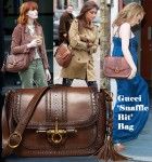 Celebrities Love...Gucci 'Snaffle Bit' Bag