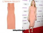 In Heather Graham's Closet - L'Wren Scott Fitted Dress