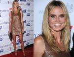 Heidi Klum In Michael Kors - BritWeek Gala Dinner