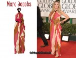 In Heidi Klum's Closet - Marc Jacobs Belted Halterneck Gown