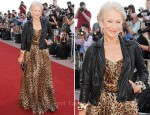 "Helen Mirren In Dolce & Gabbana - ""Arthur"" London Premiere"