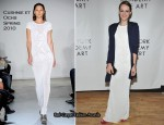 Jena Malone In Cushnie et Ochs & Risto - Tribeca Ball 2011 At The New York Academy of Art