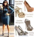 Celebrity Shoe Swap: Jennifer Hudson