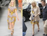 Sidewalk Style: Kate Hudson In Etro