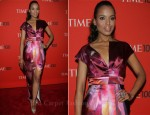 Kerry Washington In Malandrino - Time 100 Gala