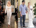LeAnn Rimes In Emilio Pucci - Moonshadows Restaurant