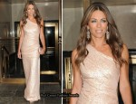 Elizabeth Hurley In J.Mendel -  2011 Breast Cancer Research Foundation's Hot Pink Party
