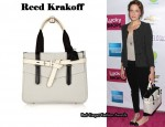 In Mandy Moore's Closet - Reed Krakoff Boxer Tote