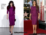Penelope Cruz In L'Wren Scott - Hollywood Walk of Fame