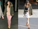 Sidewalk Style: Rachel Bilson's 2 Looks In 1 Day