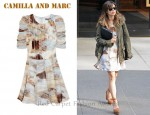 In Rachel Bilson's Closet - Camilla and Marc Equinox Printed Silk-Chiffon Dress