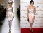 Rachel Bilson In Chanel Couture - 2011 Tribeca Film Festival Magnum Ice Cream Film Series Screening