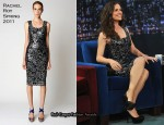 "Jennifer Garner In Rachel Roy - ""Late Night On Jimmy Fallon"""