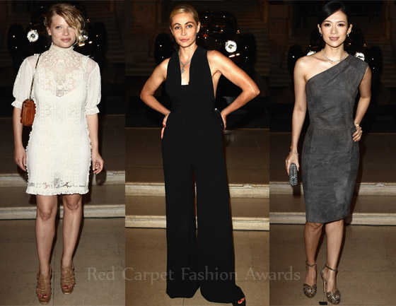 Ralph Lauren The Art Of The Automobile Gala Dinner Red