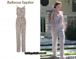 In Jennifer Love Hewitt's Closet - Rebecca Taylor Jumpsuit