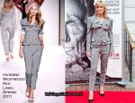 "Robin Wright In Vivienne Westwood - ""The Conspirator"" Washington DC Premiere"