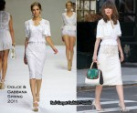 "Runway To ""Bridesmaids"" Photo Shoot - Rose Byrne In Dolce & Gabbana"