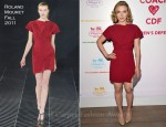 Scarlett Johansson In Roland Mouret - Coach Benefit For The Children's Defense Fund