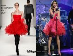 "Selena Gomez In Irina Shabayeva - ABC's ""Dancing With The Stars"""