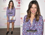 Sophia Bush In Tucker - Coach Benefit For The Children's Defense Fund