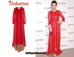 In Carina Lau's Closet - Valentino Ruffled Gown