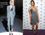 Zoe Saldana In Salvatore Ferragamo - 54th San Francisco International Film Awards