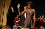 Michelle Obama In Halston - 2011 White House Correspondents' Association Dinner