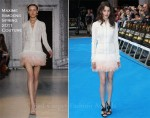 "Astrid Berges-Frisbey In Maxime Simoens Couture - ""Pirates Of The Caribbean: On Stranger Tides"" London Premiere"