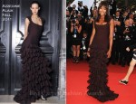 "Naomi Campbell In Azzedine Alaia - 2011 Cannes Film Festival ""The Beaver"" Premiere"