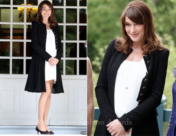My Fashion World: Carla Bruni-Sarkozy in Christian Louboutin ...