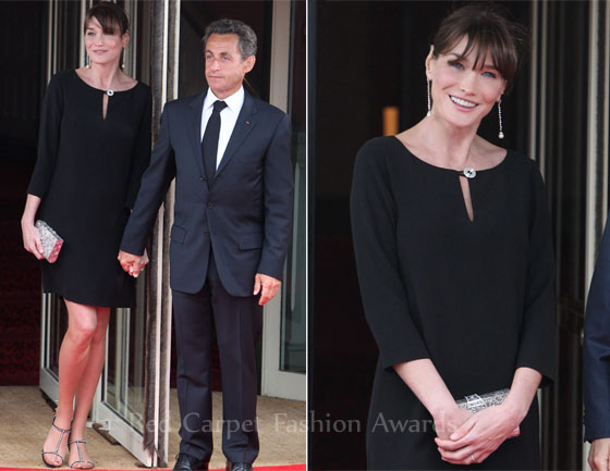 louboutins trainers - My Fashion World: Carla Bruni-Sarkozy in Christian Louboutin ...