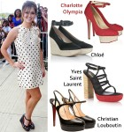 Celebrity Shoe Swap: Cheryl Cole