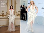 Courtney Love In Givenchy Couture - 2011 amfAR's Cinema Against AIDS Gala