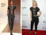 Dianna Agron In Gucci - 2nd Annual Mary J. Blige Honors Concert