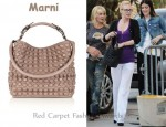 In January Jones' Closet - Marni Studded Shoulder Bag