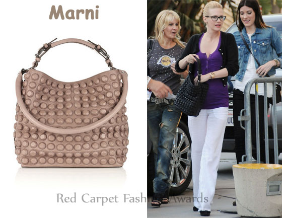 Marni Studded Shoulder Bag 104