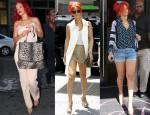 Sidewalk Style: Rihanna Loves Stella McCartney & Givenchy