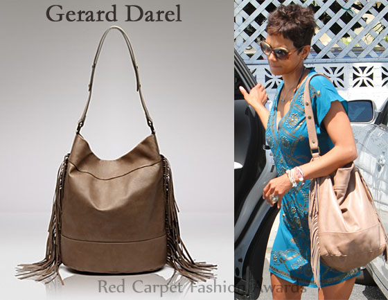 Gerard Darel Fringe Shoulder Bag 32