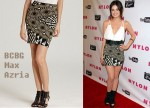In Lucy Hale's Closet - BCBG Max Azria 'Britte' Tribal Print Skirt