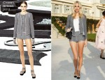 Poppy Delevigne In Chanel - Chanel Resort 2012 Presentation