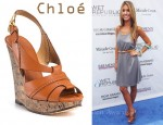 In Audrina Patridge's Closet - Chloé Cork Wedges