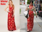 In Selma Blair's Closet - Winter Kate Passenger Halterneck Maxi Dress