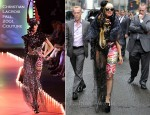 Lady Gaga In Christian Lacroix & Vitkor & Rolf - The Late Show with David Letterman