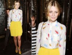 Sidewalk Style: Mischa Barton In MW Matthew Williamson & Willow