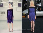 "January Jones In Preen - ""X-Men: First Class"" New York Premiere"