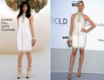 Karolina Kurkova In Chanel Couture - 2011 amfAR's Cinema Against AIDS Gala