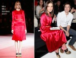 Kate Waterhouse In Miu Miu - Rosemount Australian Fashion Week Spring/Summer 2011/12