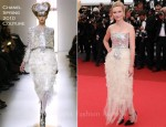 Kirsten Dunst In Chanel Couture - 2011 Cannes Film Festival Closing Ceremony