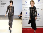 Jane Fonda In Marios Schwab - Cinema for Peace Charity Dinner