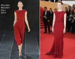 "Mia Wasikowska In Roland Mouret - 2011 Cannes Film Festival ""Restless"" Premiere"